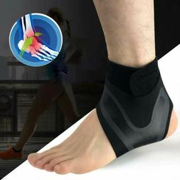 1 Pair Ankle Support Adjustable Lightweight Ankle Brace Slee