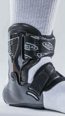 1 Pair Ultra Zoom Ankle Brace  Injury Prevention Black Small