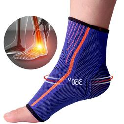 1 Piece Sport <font><b>Ankle</b></font> Support Protector <f