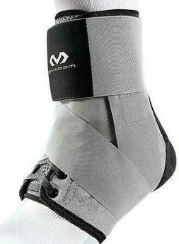 MCDAVID 195 Ankle Brace With Straps, Level 3, X-Large, Grey/
