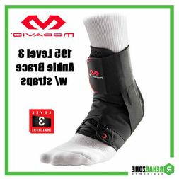 McDavid 195 Level 3 Ankle Brace w/ Straps