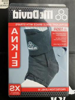 MCDAVID 195R Ultralight Ankle Brace w/ Straps - Protection L