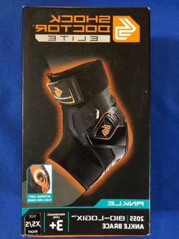 Shock Doctor 2055 Elite Bio-Logix Ankle Brace Right XS/S Per