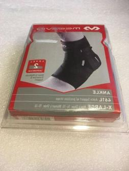 McDavid 461L Ankle Support Brace With Precision Straps Black