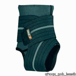 SHOCK DOCTOR 845 ANKLE BRACE SLEEVE WITH COMPRESSION STRAPS