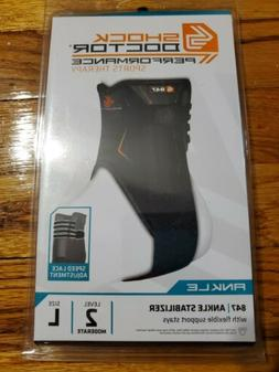 Shock Doctor 847 Ankle Stabilizer Brace Speed Lace Adjustmen