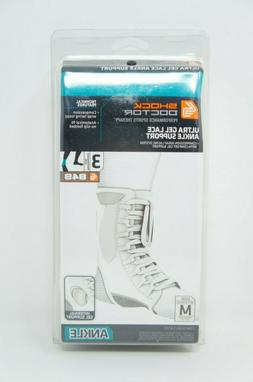 Shock Doctor 849 Compression Ankle Brace Ultra Gel Lace Up M