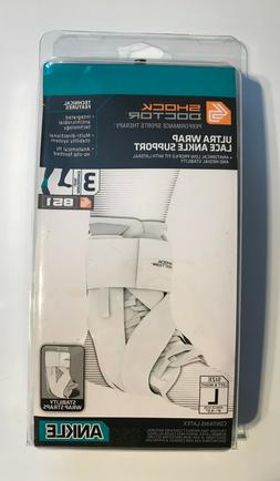 Shock Doctor 851 Ultra Wrap Laced Ankle Brace Support