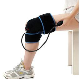 Cold Therapy Knee Wrap with Compression and Extra Ice Gel Pa
