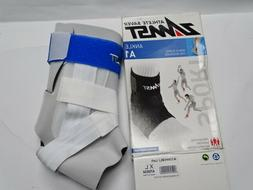 Zamst A1 Left Ankle Injury/Prevention WHITE XL Brace Support