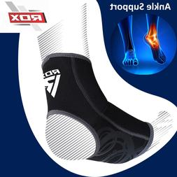 RDX A2 Gray Ankle Brace Support Neoprene Compression Sleeve