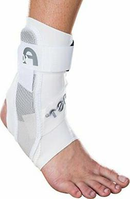 Aircast A60 Ankle Support Brace, Left Foot, White, Medium