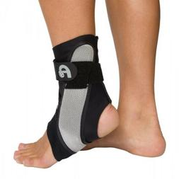 AIRCAST A60 Ankle Support Brace - Right Foot - Black - Size
