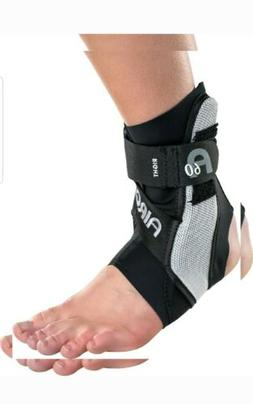 Aircast A60 Ankle Support Brace, Right Foot, Medium, Black