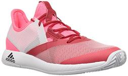 adidas Women's Adizero Defiant Bounce Tennis Shoe, Flash red