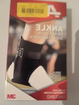 ACE ADJUSTABLE ANKLE BRACE WITH SIDE STABILIZER 207266 - NEW