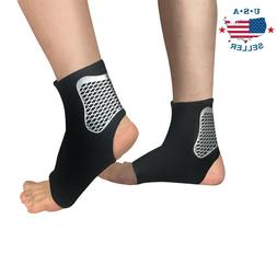 Ankle Brace Support Compression Sleeve Socks Pain Relief Ela