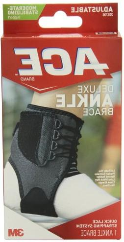 Ace Adjustable Deluxe Ankle Brace Moderate Stabilizing