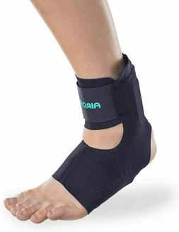 Aircast AirHeel Ankle Support Brace with Stabilizers, Medium
