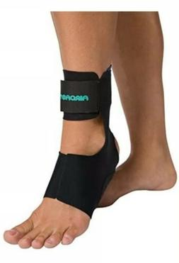 Aircast AirHeel Ankle Support Brace with Stabilizers, Small