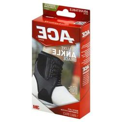 ACE Ankle Brace, Deluxe, Adjustable, Moderate-Stabilizing Su