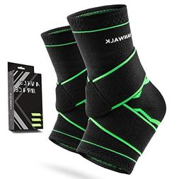 Ankle Brace with Velcro – VANWALK Active 2 Ankle Support B