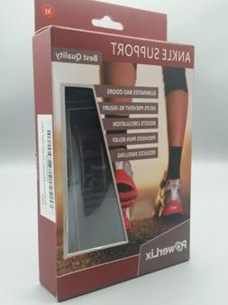 Powerlix Ankle Brace Compression Support  For Injury Recover