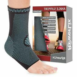 PowerLix Ankle Brace Compression Support Sleeve for Athletic