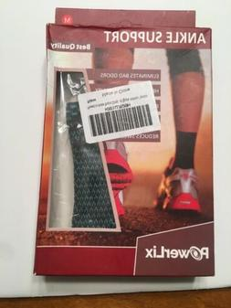 PowerLix Ankle Brace Compression Support Sleeve  for Injury