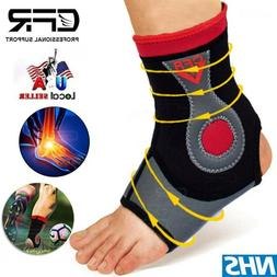 Ankle Brace Foot Support Wrap for Sprain Tendonitis Heel Pai