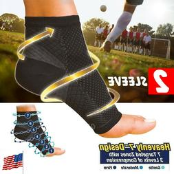 Ankle Brace Heel Achy Support Fasciitis Compression Socks Fo