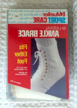 MUELLER Sport Care ANKLE BRACE Medium Lace Up Bi-Lateral Rig