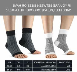 Ankle Brace Sock, Foot Doc Plantar Fasciitis Arch Support Fo