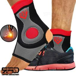 Ankle Brace Support Compression Sleeve Foot Arch Plantar Fas