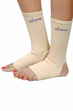 Ankle Brace Support Compression Sleeve Pain Relief Elastic F