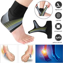 Ankle Brace Support Compression Socks Sports Plantar Fasciit