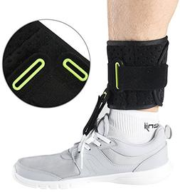 Ankle Support Drop Foot Brace Orthosis - Comfort Cushioned A