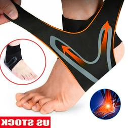 Ankle Brace Support Plantar Fasciitis Compression Sleeve Pai