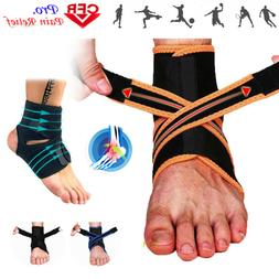 Ankle Brace Support Sport BASKETBALL VOLLEYBALL Stabilizer F