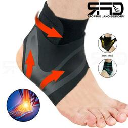 Ankle Brace Support Sport Sleeve Achilles Tendon Plantar Fas