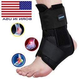 Ankle Brace,Lace up Ankle Brace for Women,Ankle Brace for Ma