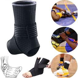 Ankle Sprain Brace Foot Support Bandage Achilles Tendon Stra