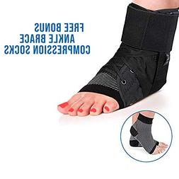 Ankle Stabilizer - Ankle Brace and Sprain Support Heals Ankl