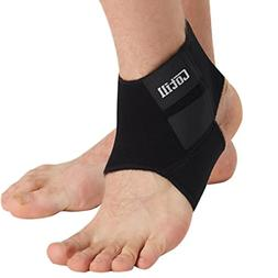 Cotill Ankle Support for Men and Women - Neoprene Breathable