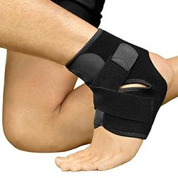 Bracoo Ankle Support, Compression Brace for Sport Injuries -