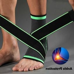 Ankle Support Brace Compression Socks Arch Running Plantar F