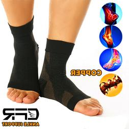 Ankle Support Brace Elastic Compression Sock Wrap Sleeve Spo