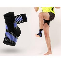 Ankle Support Brace Foot Tight Strap Guard Achilles Tendon B