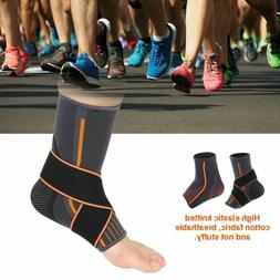 Ankle Support Brace Guard Sports Protector Basketball Soccer