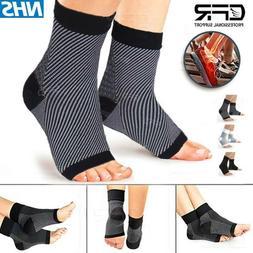Ankle Support Brace Plantar Fasciitis Arch Support Compressi